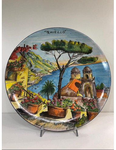 Hand Painted Ravello Wall Plate