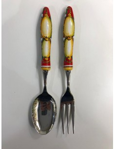 Delicious set of cutlery in...