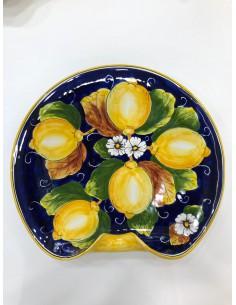 Piatto Blu Ceramica Limoni...