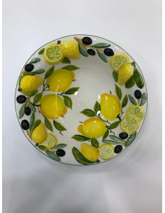White Ceramic Bowl with...