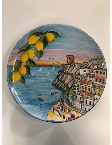 Wall-Plate Vietri Ceramic with...