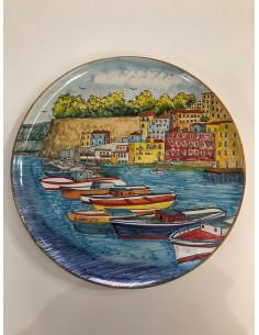Wall-Plate Vietri Ceramic...