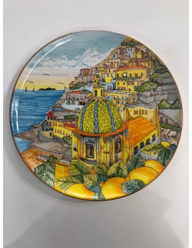 Wall-Plate Vietri Ceramica with...