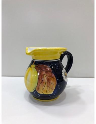 Lemon-filled tableware pitcher...