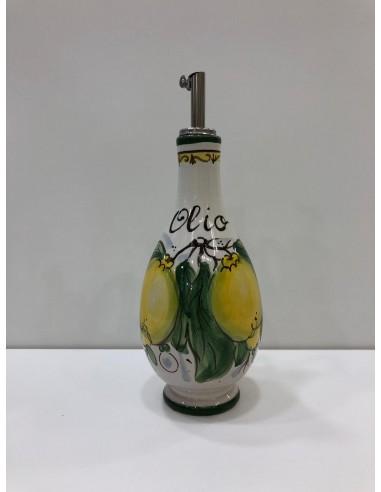 Kitchen oil bottles entirely...