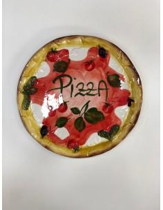 Small Ceramic Pizza Fantasy...