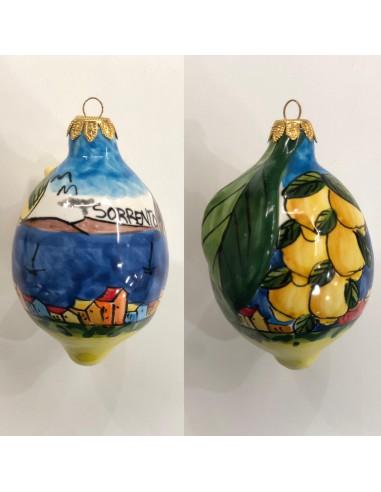 Christmas ball Big Lemon Sorrento...