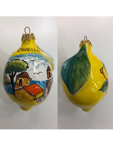 Christmas ball Big Lemon Ravello...