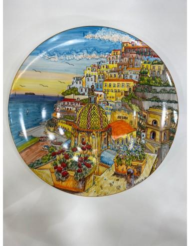 Plate with Landscape Positano