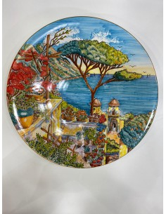 Plate with Landscape Ravello