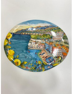 Plate with Landscape Sorrento