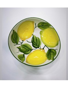 Sorrento Hand-Painted Lemon...