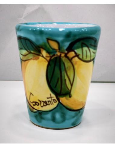 Limoncello glasses Gift Idea Ceramic...