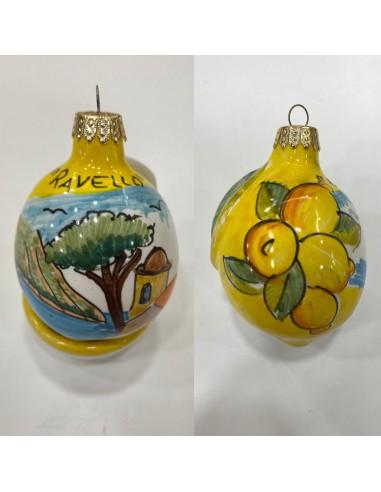 Christmas ball Small Lemon Ravello...