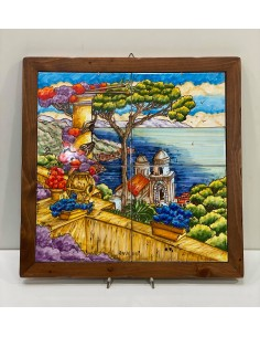 Hand painted painting with...