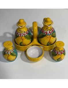 Hand painted kitchen set