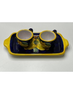 Tray with coffee cups