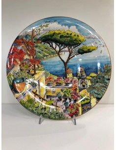Ceramic Wall Plate with...